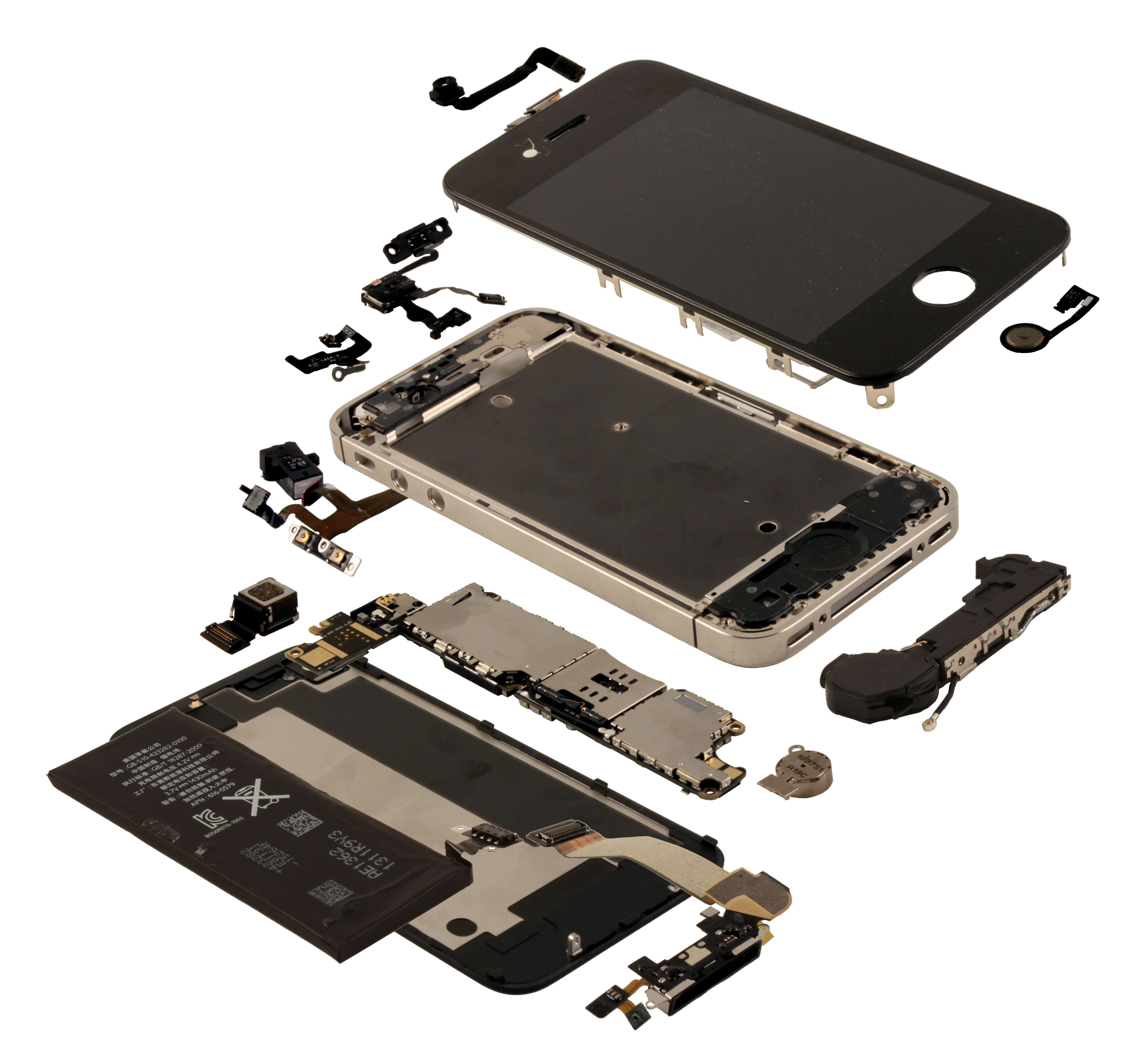 IHS iSuppli Teardown Analysis - Apple iPhone 4S