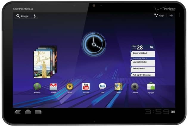 Motorola XOOM Teardown Analysis