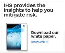 IHS provides the insights to help you mitigate risk. Download our white paper.