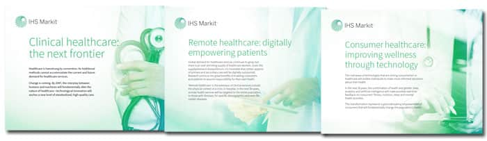 IHS Markit healthcare ebooks