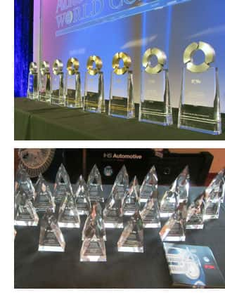 """Above: """"Loyalty & Conquest Awards"""" Below: """"Segment Awards"""""""