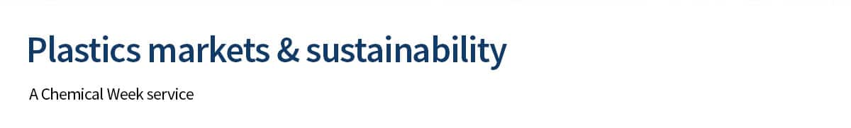 Plastics markets & sustainability