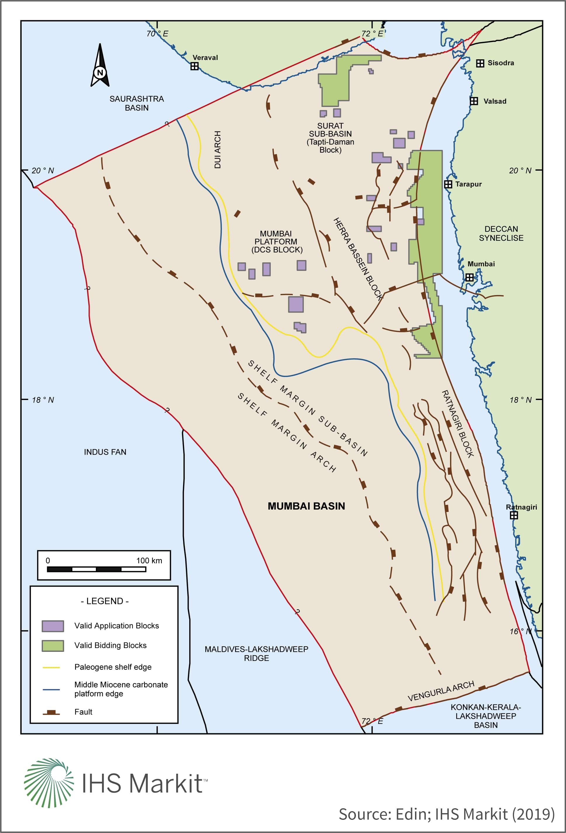 The Mumbai Basin's geological history, future potential and