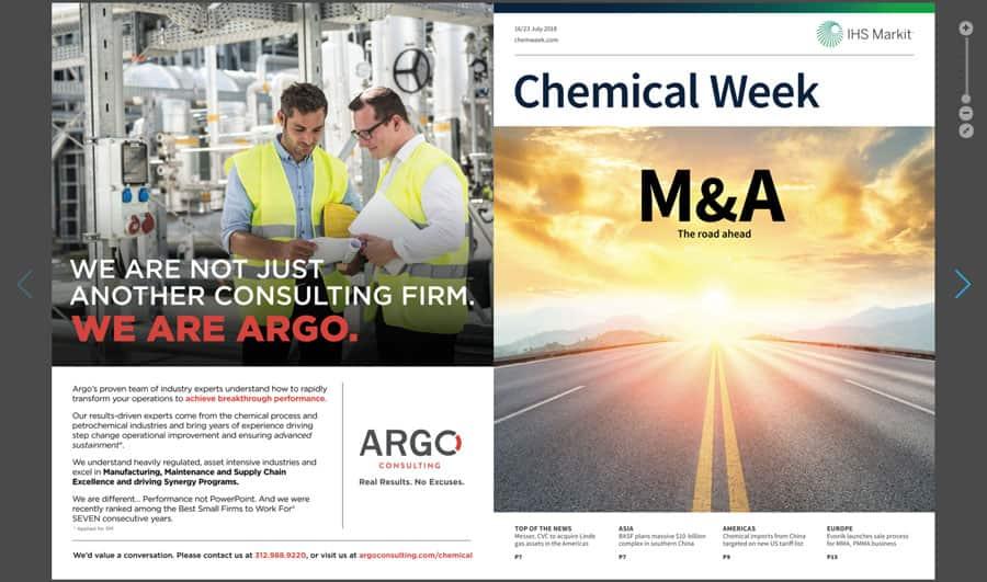 Chemical Week - Digital and iPad edition