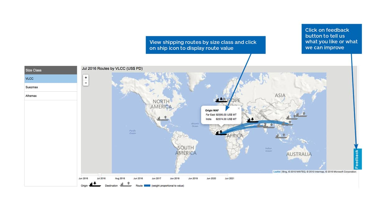 Maritime Trade Freight Rate Forecast IHS Markit - International shipping routes map to us