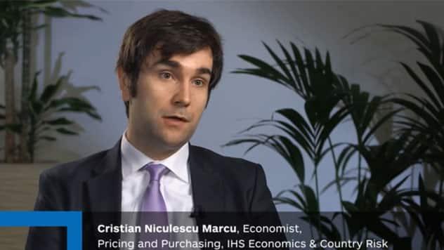 Cristian Niculescu Marcu, Economist