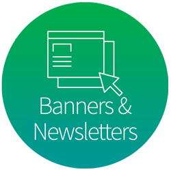 Banners & newsletters
